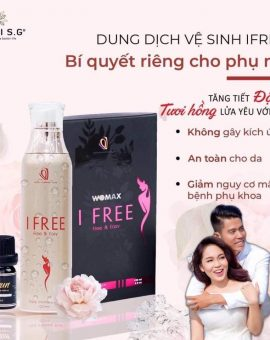 DUNG DỊCH VỆ SINH IFREE